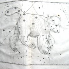Great Bear constellation from Bayer's celestial atlas